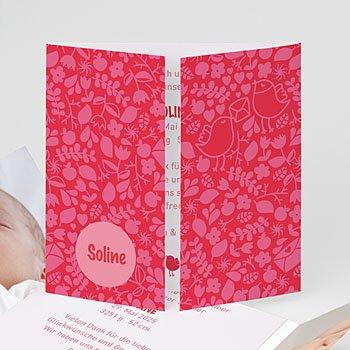 Geburtskarten für Mädchen - Hochzeitsflair - 1