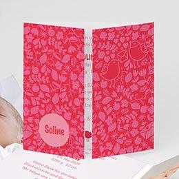 Geburtskarten für Mädchen Hochzeitsflair