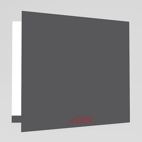 Hochzeitseinladungen modern - Rot & Grau 22408 preview