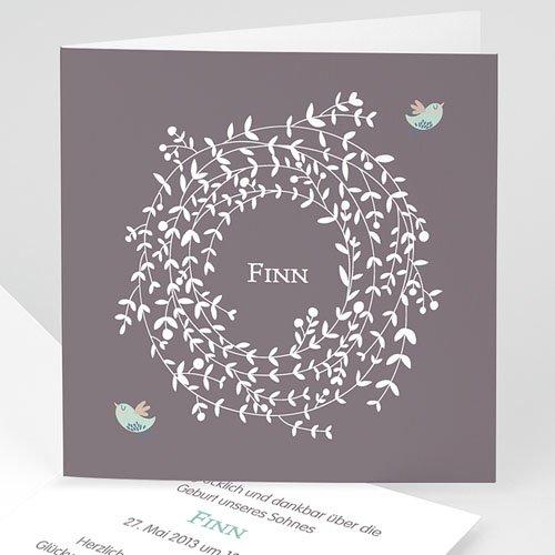 Babykarten für Jungen - Blumenkrone 22441