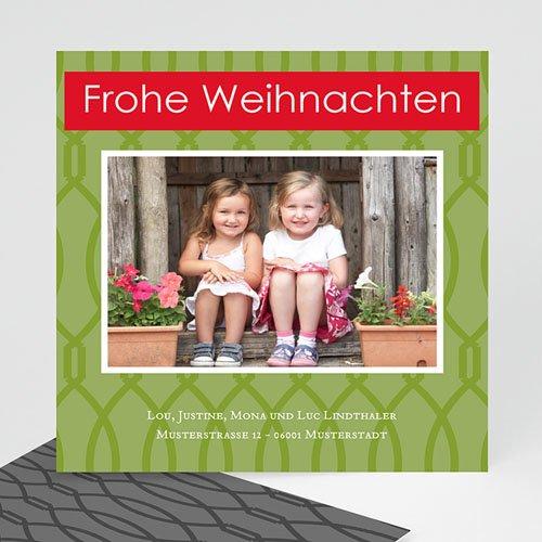 Weihnachtskarten - Grünes Weihnachten 22474 test