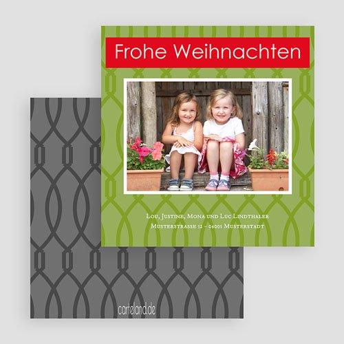 Weihnachtskarten - Grünes Weihnachten 22476 test