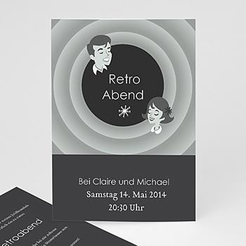 Runde Geburtstage - Retroabend - 1