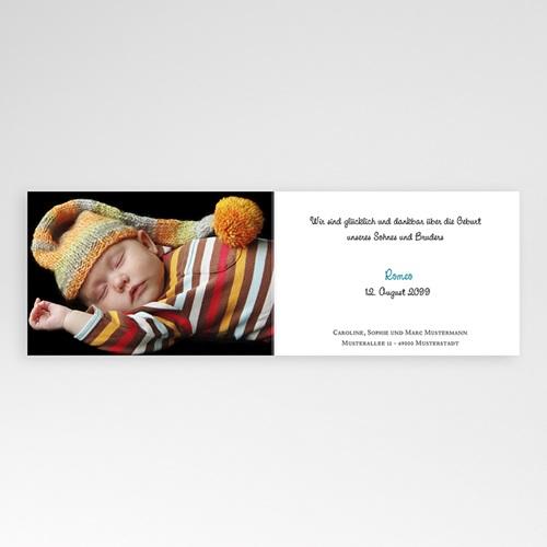 Babykarten für Jungen - Blaues Herz 22552 preview
