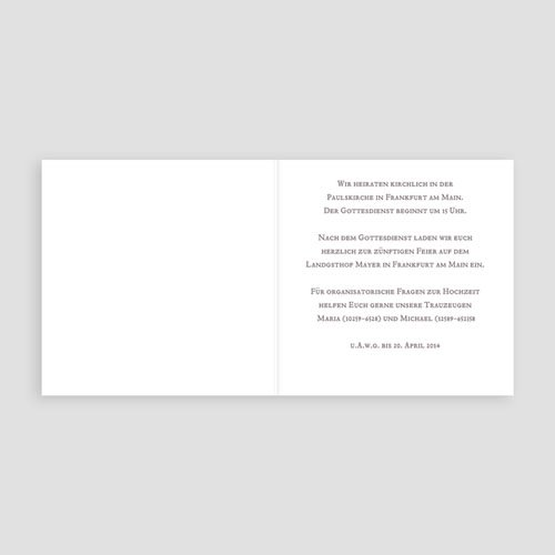 Hochzeitseinladungen ohne Foto Fahnchen pas cher