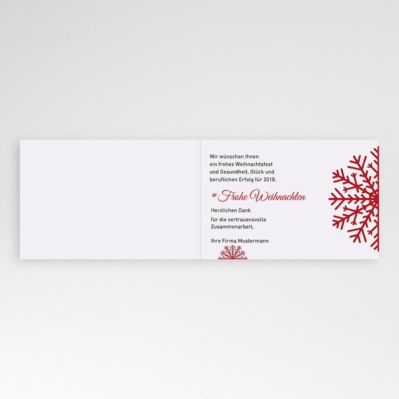 Geschäftliche Weihnachtskarten Unser Team pas cher