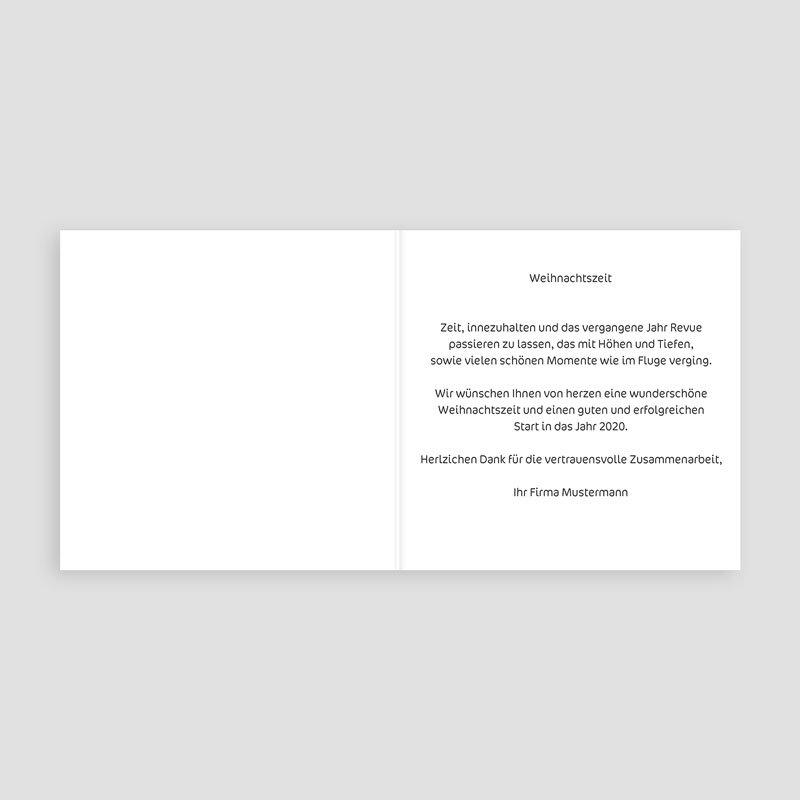 Geschäftliche Weihnachtskarten Bunter Weihnachtsbaum pas cher