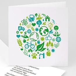 Weihnachtskarten - Umweltbewusst - 1