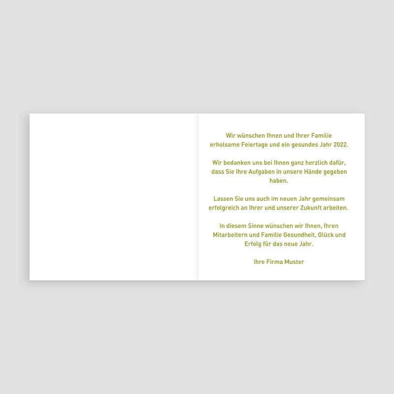 Geschäftliche Weihnachtskarten Schmetterlingsbaum pas cher