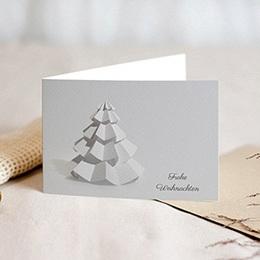 Voeux Pro Nouvel An Papier- Weihnachtsbaum