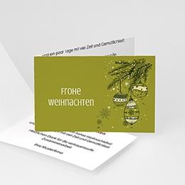 Weihnachtskarten - Tannenzweig - 1
