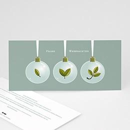 Weihnachtskarten - Weihnachtskugeln - 1