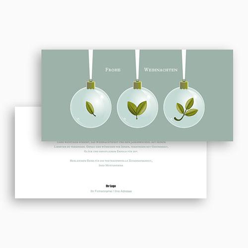 Weihnachtskarten - Weihnachtskugeln 22685 preview