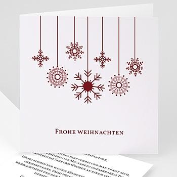 Weihnachtskarten - Etoiles suspendues - 1