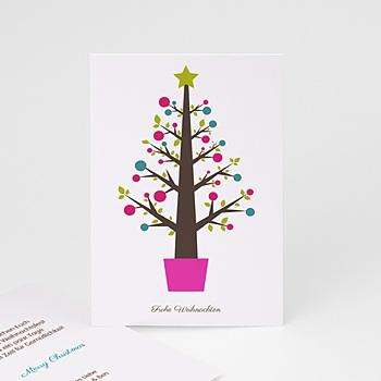 Weihnachtskarten - Pop-Baum - 1