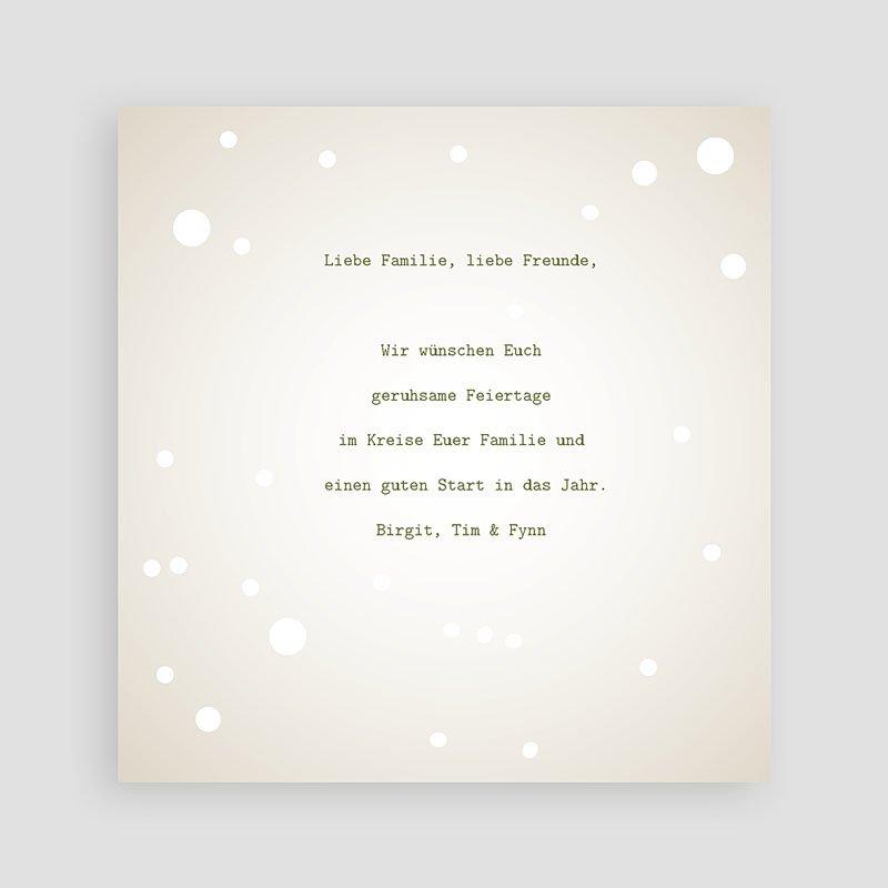 Weihnachtskarten Weihnachtszeit pas cher