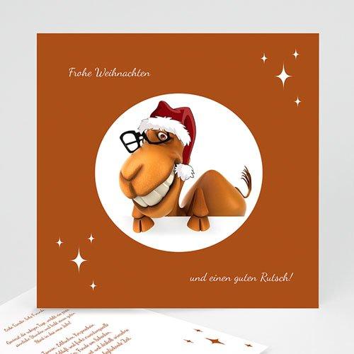 Weihnachtskarten - Dromedar 22734
