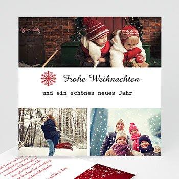Weihnachtskarten - Un peu de magie... - 1