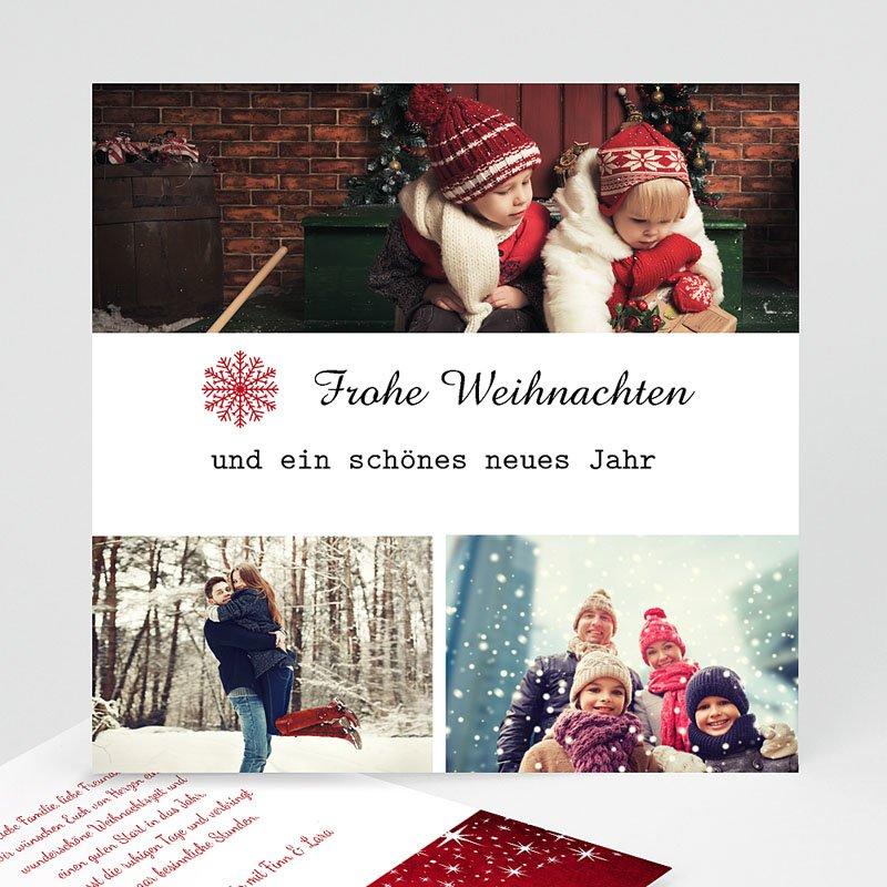 Weihnachtskarten Zauber