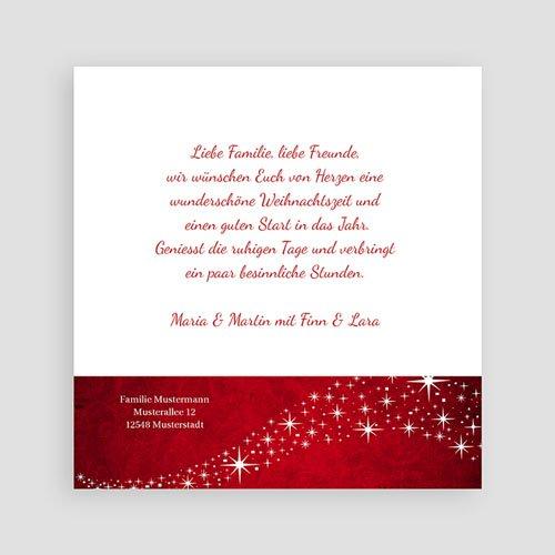 Weihnachtskarten Zauber pas cher