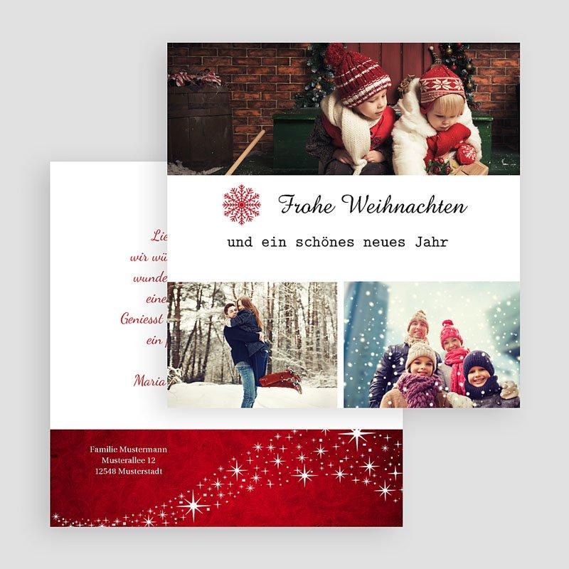 Weihnachtskarten Zauber gratuit