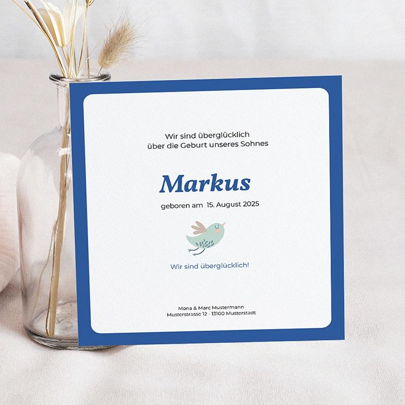 Geburtskarten für Jungen Markus pas cher