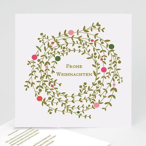 Weihnachtskarten - Tannengrün  22762