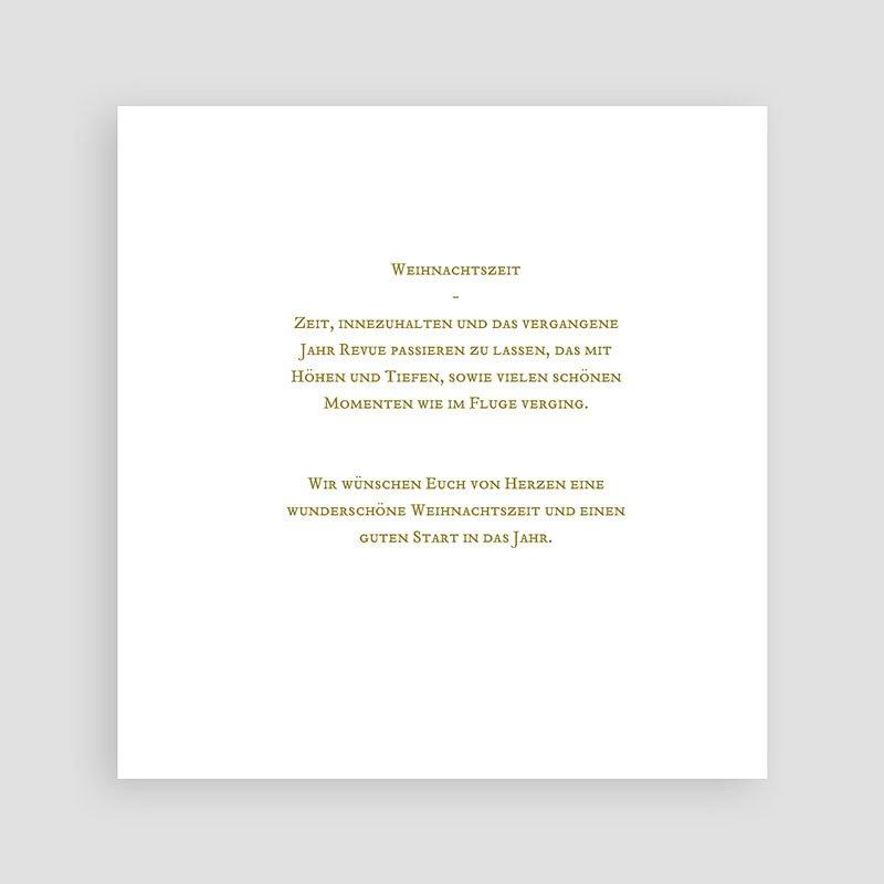 Weihnachtskarten Tannengrün  pas cher