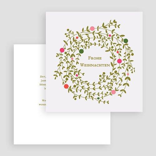 Weihnachtskarten Tannengrün  gratuit