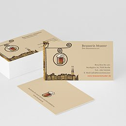 Visitenkarten Professionnel Brasserie