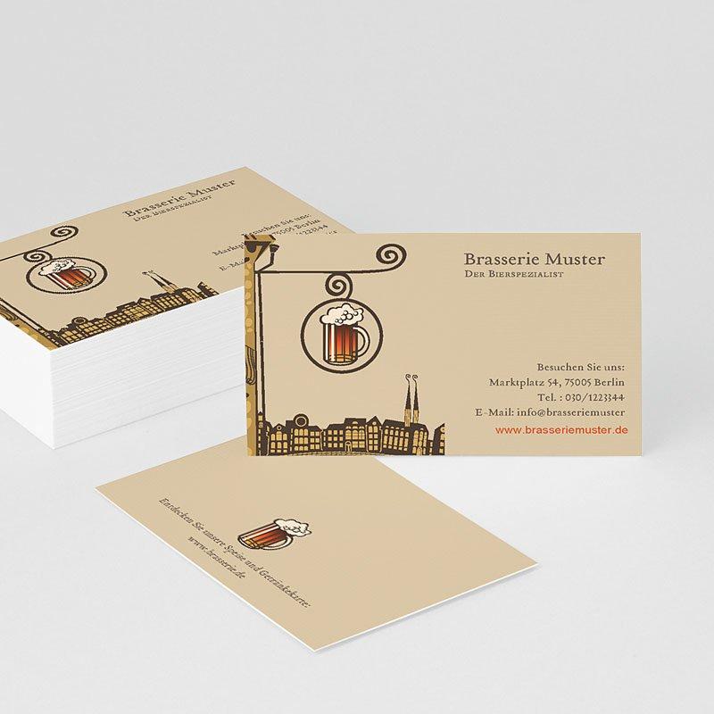 Visitenkarten Brasserie