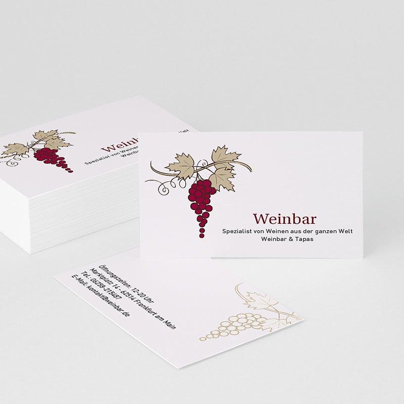 Visitenkarten Weinbar