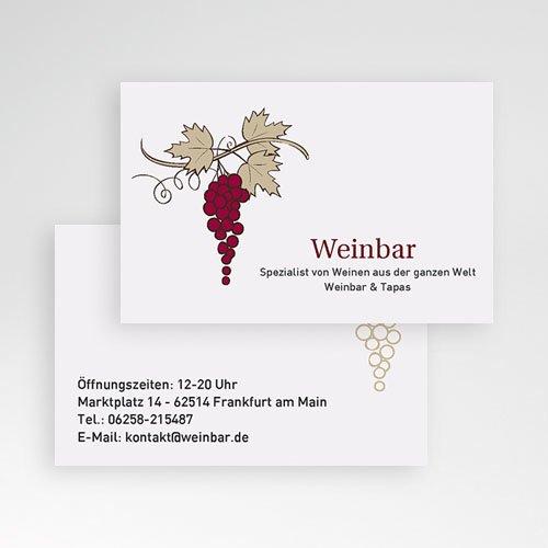 Visitenkarten Weinbar pas cher