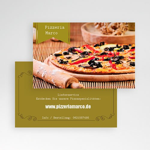 Visitenkarten - Italienisch 22791 preview