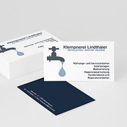 Visitenkarten - Plombier - 1