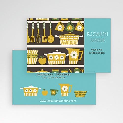 Visitenkarten Gastronomie pas cher