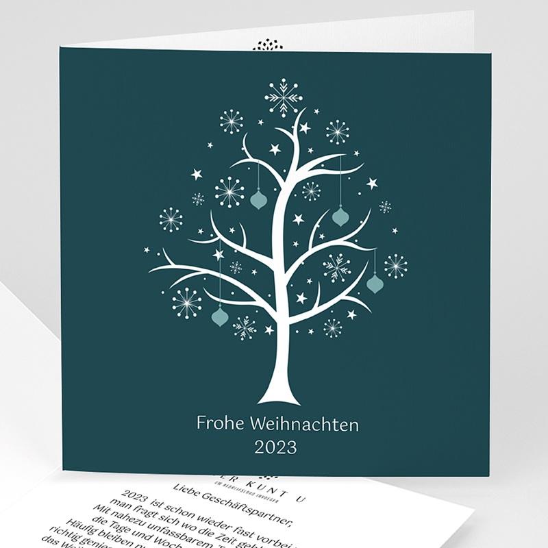 Weihnachtskarten - Sternenbaum 22820 thumb