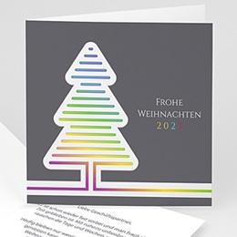 Voeux Pro Nouvel An Fluo Weihnachtsbaum