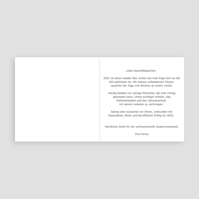 Geschäftliche Weihnachtskarten Fluo Weihnachtsbaum pas cher