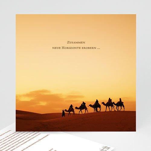 Weihnachtskarten - Dromedar Herde 22847 test