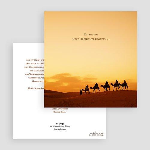 Weihnachtskarten - Dromedar Herde 22849 test