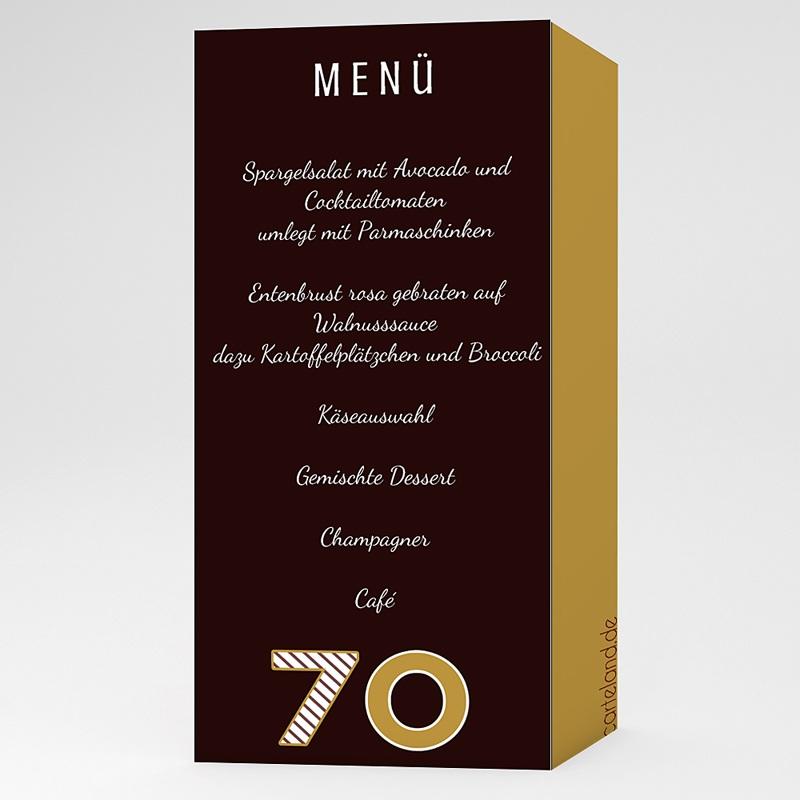 Erwachsener Einladungskarten Geburtstag Geburtstag in Gold