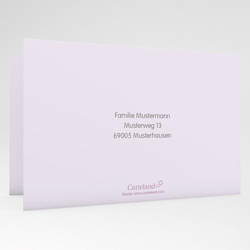 Einladungskarten Taufe Jungen  - Blumen und Kreuz 22932 preview