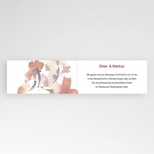 Hochzeitseinladungen modern - Warme Farben 22974 preview
