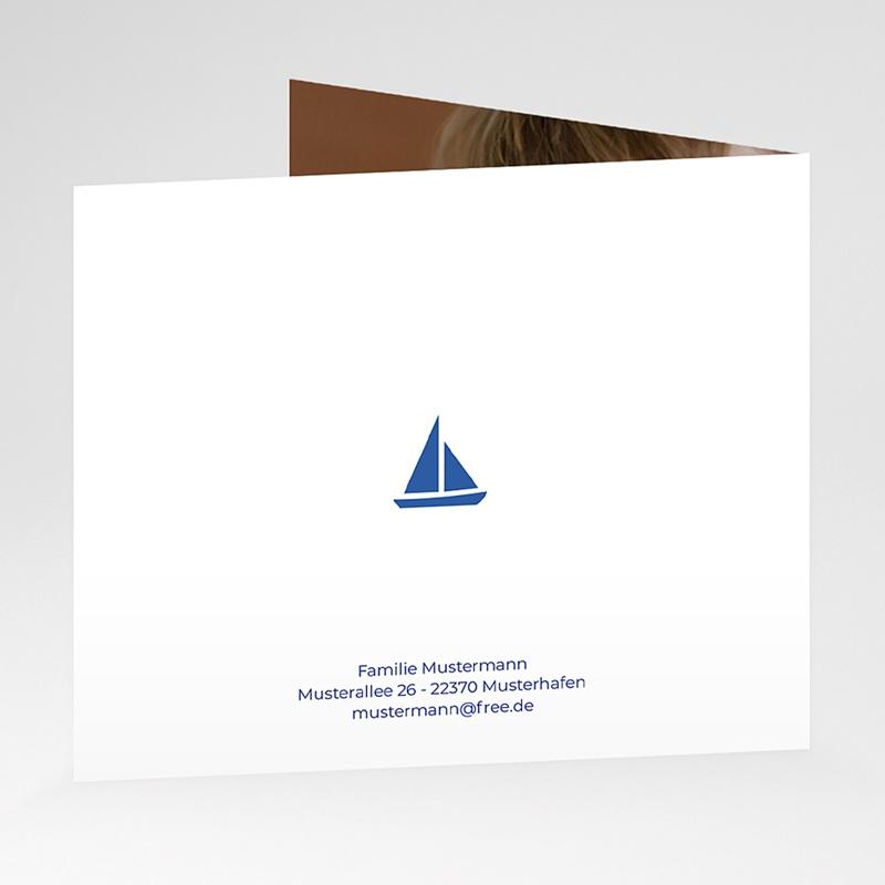 Geburtskarten für Jungen Kleiner Seemann gratuit