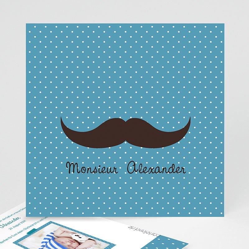 Geburtskarten für Jungen Monsieur