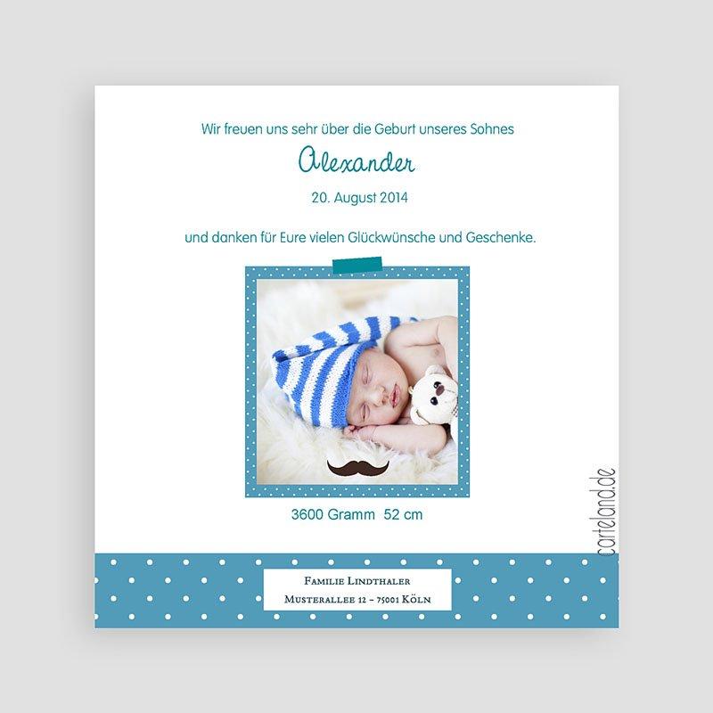 Geburtskarten für Jungen Monsieur pas cher