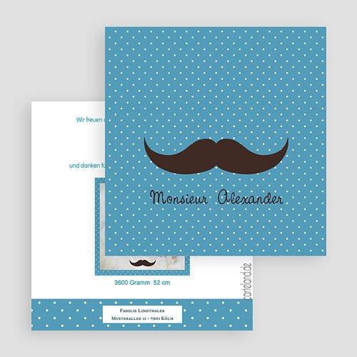 Geburtskarten für Jungen Monsieur gratuit