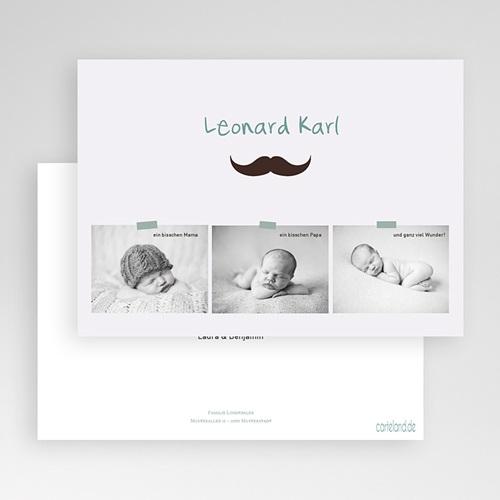 Geburtskarten für Jungen - Kleiner Mann 23048 thumb