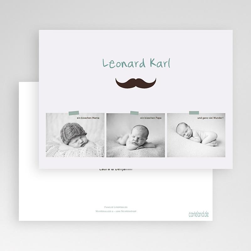 Geburtskarten für Jungen Kleiner Mann gratuit